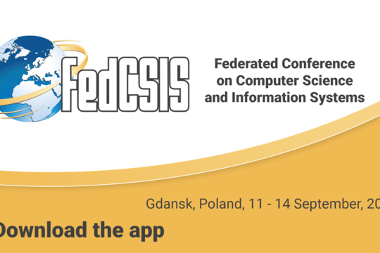 Mobile application of Federated Conference on Computer Science and Information Systems